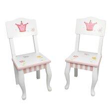 Princess and Frog Kids' 2 Piece Chair Set