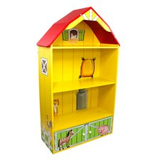 "Happy Farm Barn 41.75"" Bookshelf"