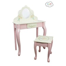Bouquet 2 Piece Vanity Set with Mirror