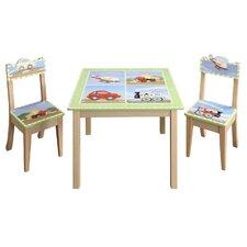 Transportation Kids' 2 Piece Chair Set