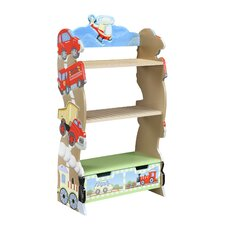 "Transportation 41"" Bookshelf"