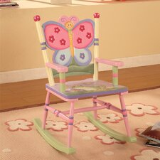 Magic Garden Kids Rocking Chair