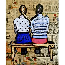 See you in the Funny Papers Graphic Art on Canvas