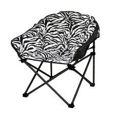 Urban Shop Zebra Club Chair
