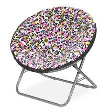 Rock Your Room Multi Cheetah Saucer Papasan Chair