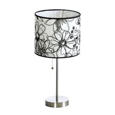 """Ashley 19.5"""" H Table Lamp with Drum Shade"""