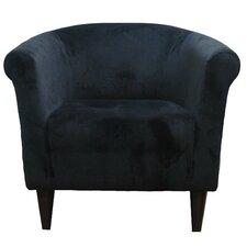 Savannah Microfiber Barrel Chair