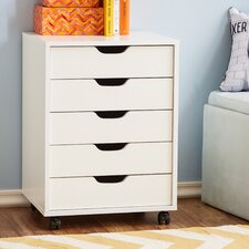 Riley 5-Drawer Filing Cabinet