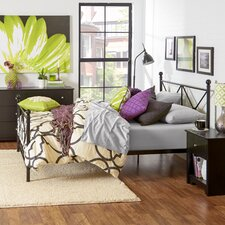 Crisscross Queen Bed