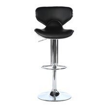 Ashley Adjustable Height Swivel Bar Stool with Cushion