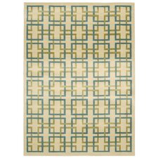 Savannah Ivory & Blue Rug