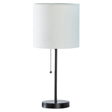 """Tom 19"""" H Table Lamp with Drum Shade"""