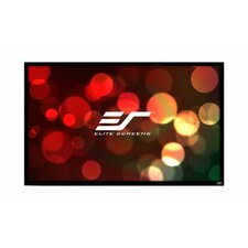 ezFrame Whire Fixed Frame Projection Screen