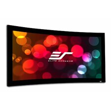 Lunette 2 Series Curved Fixed Frame Projection Screen
