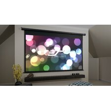 Matte White Electric Drop Down Projection Screen