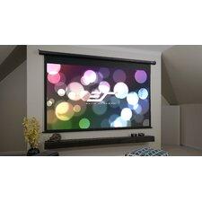 Spectrum Series Motorized Matte White Electric Drop Down Projection Screen