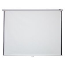 Elite Screens Manual B Series, 120-inch Diagonal 16:10, Pull Down Projection Manual Projector Screen with Auto Lock, M120X