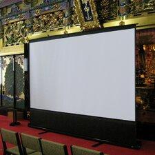 "ezCinema Series 60"" Diagonal Portable Floor Pull Up Projection Screen"