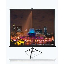 Tripod Portable Pull Up Projector Projection Screen