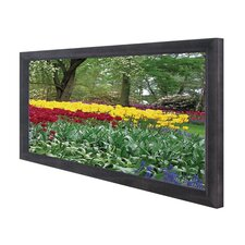 "Cinema235 Series 85"" Grey Fixed Frame Projection Screen"