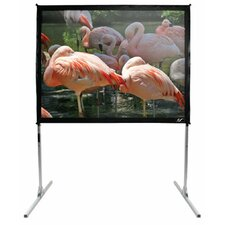 QuickStand White Portable Projection Screen