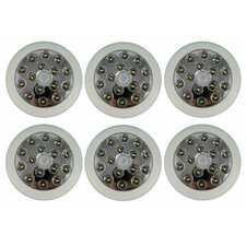 12m Security Pir Infrared Motion Sensor Detector Outdoor Wall Light (Set of 6)