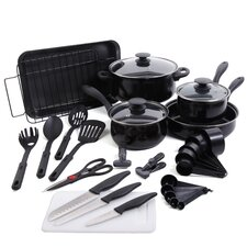 Kitchen 30 Piece Cookware Set