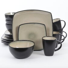 SoHo Lounge 16 Piece Dinnerware Set
