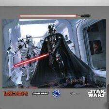 Star Wars Darth Vader and Stormtroopers Fallen Rebel Wall Mural