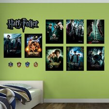 Harry Potter Movie Poster Peel and Stick Wall Decal