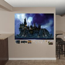 Harry Potter Hogwarts Castle Peel and Stick Wall Mural