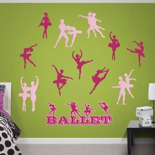 Ballerina Peel and Stick Wall Decal