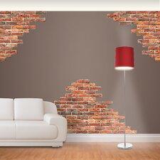 Horizontal Brick Wall Decal