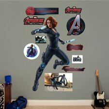 Marvel Avengers Widow Age of Ultron Peel and Stick Wall Decal