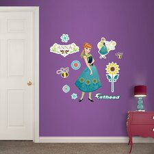 Disney Anna - Frozen Fever Junior Peel and Stick Wall Decal