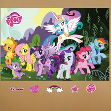 Hasbro My Little Pony Peel and Stick Wall Mural