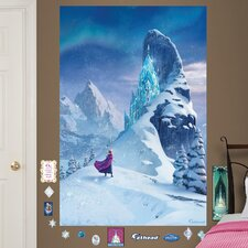 Disney Snow Queen Elsa's Castle Peel and Stick Wall Decal
