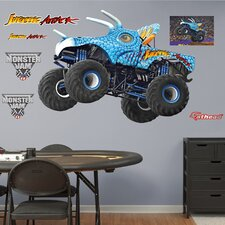 Feld - Monster Truck - Jurassic Attack Peel and Stick Wall Decal