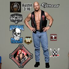 WWE Stone Cold Steve Austin Big Wall Decal