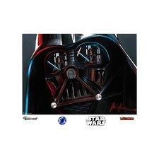 Star Wars Vader Illustration Wall Mural