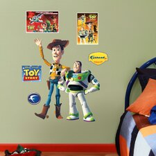 Disney Woody and Buzz Lightyear Wall Decal