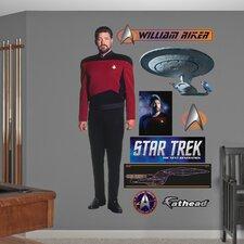 Star Trek William Riker Wall Decal