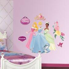 Disney Aurora Cinderella and Tiana Wall Decal