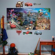 Disney Cars 2 Wall Mural