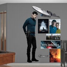 Star Trek Into Darkness Spock Wall Decal