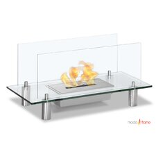 Baza Free Standing Floor Indoor Outdoor Ethanol Fuel Fireplace