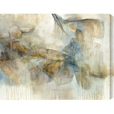 'Of No Particular Kind' by Sylvia Angeli Painting Print on Wrapped Canvas