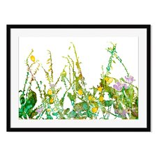 Backyard Oasis I by Carole Pena Framed Painting Print