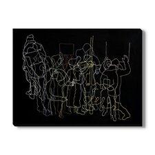 Washington Square' by Fanny Allie Framed Wall Art