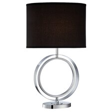 """Cosima 27.5"""" H Table Lamp with Oval Shade"""